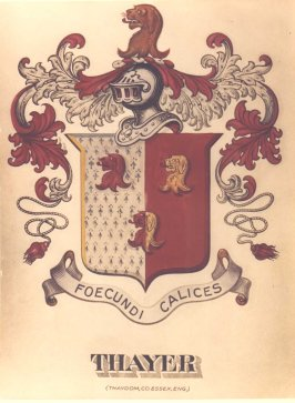 Thayer Coat Of Arms